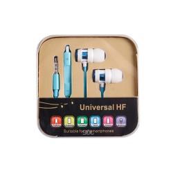 Ακουστικά Γαλάζιο Universal XT022 OEM