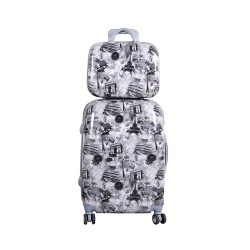 ΣΕΤ ΒΑΛΙΤΣΑ BEAUTY CASE SMALL GREY ST34S