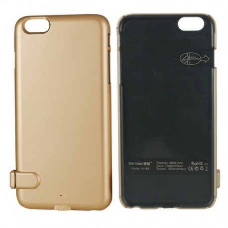 OEM POWER BANK BATTERY CASE ΓΙΑ IPHONE 6/6S ΧΡΥΣΟ KV-B4 PP12