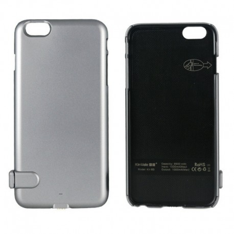OEM POWER BANK BATTERY CASE ΓΙΑ IPHONE 6/6S ΑΣΗΜΙ KV-B4 PP11