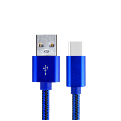 LDNIO USB 3.1 CABLE USB-C MALE USB-A MALE 1m LS60 ΜΠΛΕ