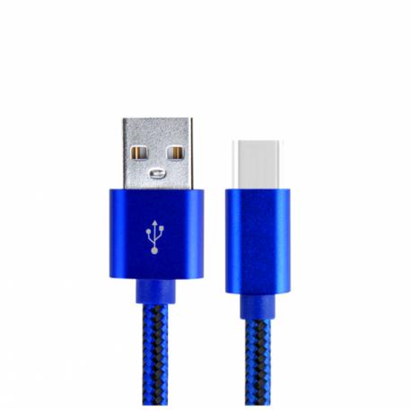 LDNIO USB 3.1 CABLE USB-C MALE USB-A MALE 1m LS60 ΜΠΛΕ