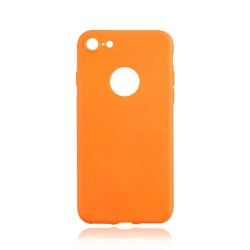 OEM BACK COVER TPU ΓΙΑ IPHONE 7 ORANGE 100.0178