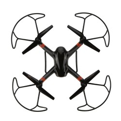 OEM ΤΗΛΕΚΑΤΕΥΘΥΝΟΜΕΝΟ DRONE QUADCOPTER BLACK SUPER -X 4CH (33040)
