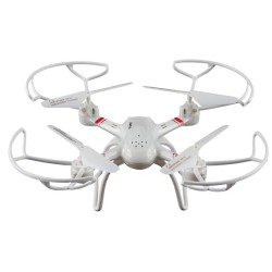 OEM ΤΗΛΕΚΑΤΕΥΘΥΝΟΜΕΝΟ DRONE QUADCOPTER WHITE SUPER-X 4CH (33040)