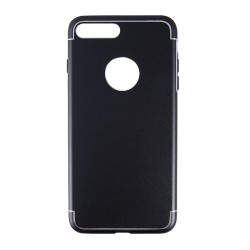 OEM BACK COVER METAL ΜΑΥΡΟ ΓΙΑ IPHONE 7 1315-IP7-05