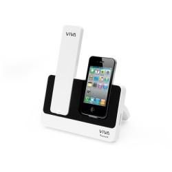 Βάση τηλεφώνου Λευκό-Μαύρο VV-01 OEM