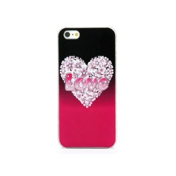 Back Cover Strass για iPhone 5/5s/SE A195 OEM