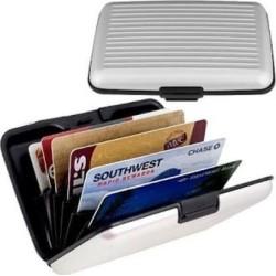Μεταλλικό Πορτοφόλι Ασφαλείας για Πιστωτικές Κάρτες με Προστασία Υποκλοπής