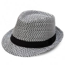 Καπέλο ψάθα ασπρόμαυρο 721 OEM
