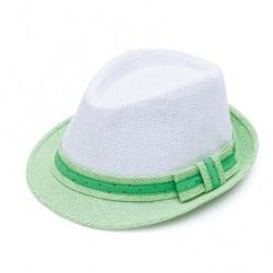 Καπέλο ψάθα λευκό λαχανί 0715 OEM