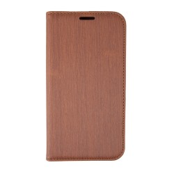 OEM BOOK CASE FOR SAMSUNG GALAXY S7 EDGE BROWN ET735