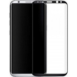 Full Cover Tempered Glass 0.33mm Για  Samsung S8 Μαύρο GL176