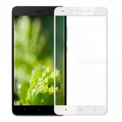 Tempered Glass (Full Cover) 9H 0.3mm for Xiaomi Redmi Note 4x White GL188
