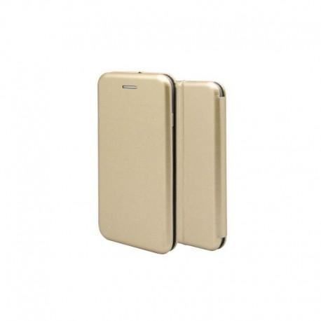OEM MAGNETIC BOOK CASE ΓΙΑ Iphone 8 Plus Χρυσό 1744-I8P-02