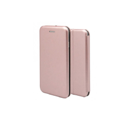 OEM MAGNETIC BOOK CASE ΓΙΑ IPHONE 8  ΡΟΖ ΧΡΥΣΟ 1744-I8-03