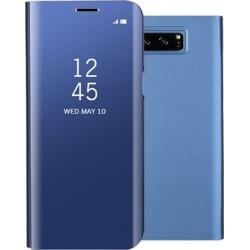 Mirror Clear View Θήκη για Samsung G.Note 8 Blue