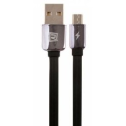 Remax KingKong Flat USB to Micro Usb Cable Μαύρο 1m RC-015μm