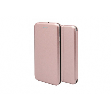 OEM MAGNETIC BOOK CASE FOR LG K10 1744-K10-03ROSEGOLD