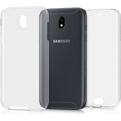 OEM Back and Front Case Σιλικόνης Διάφανο (Samsung J5 2017)
