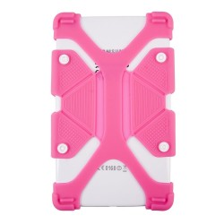 """UNIVERSAL 7.9""""- 9"""" SILICONE TABLET PINK CASE UN218"""