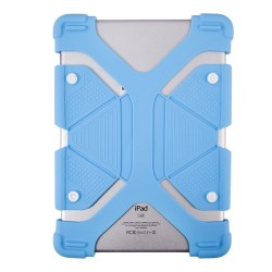 "UNIVERSAL 8.9""- 12"" SILICONE TABLET BLUE CASE UN221"
