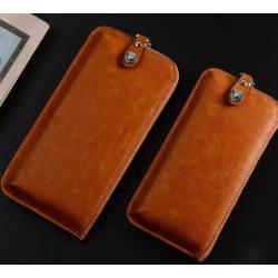 """WUW Θήκη Κινητού-Πορτοφόλι για Smartphone έωσ 5.5"""" WUW-P16"""