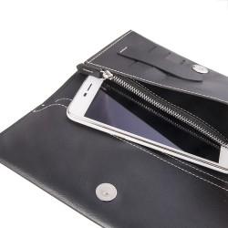 """WUW Θήκη Κινητού-Πορτοφόλι  για Smartphone μέχρι 5.5"""" WUW-P05"""