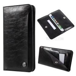 """WUW Θήκη Κινητού-Πορτοφόλι  για Smartphone μέχρι 5.5"""" WUW-P19"""