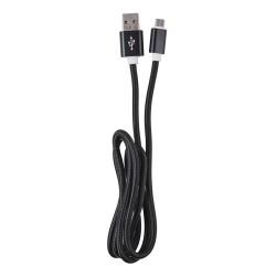 OEM  ΚΑΛΩΔΙΟ REGULAR USB TO MICRO USB  1m BLACK 3872