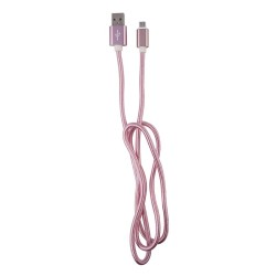 OEM  ΚΑΛΩΔΙΟ REGULAR USB TO MICRO USB  1m PINK 3872