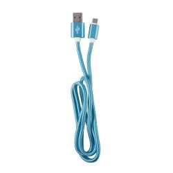 OEM  ΚΑΛΩΔΙΟ REGULAR USB TO MICRO USB  1m BLUE 3874