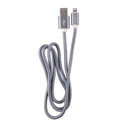 OEM  ΚΑΛΩΔΙΟ REGULAR USB TO LIGHTNING GREY 1m 3875
