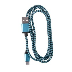 OEM ΚΑΛΩΔΙΟ REGULAR USB TO MICRO USB 1m BLUE 3861