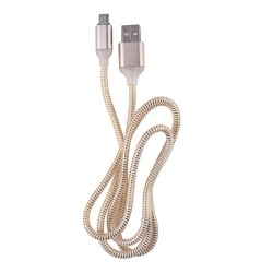 OEM ΚΑΛΩΔΙΟ LED REGULAR USB TO MICROUSB 1m GOLD 3889