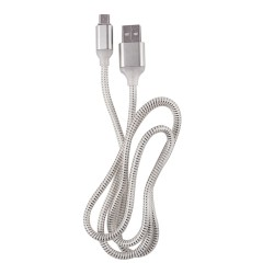 OEM ΚΑΛΩΔΙΟ LED REGULAR USB TO MICRO USB 1m WHITE 3891