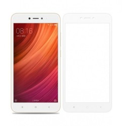Tempered Glass (Full Cover) 9H 0.3mm for Xiaomi Redmi Note 5A White GL193